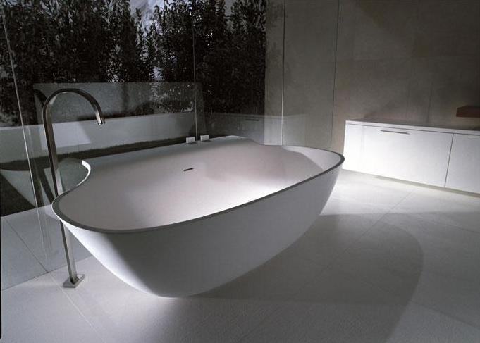 Vasca da bagno in Cristalplant // Bathtub in Cristalplant /// http ...