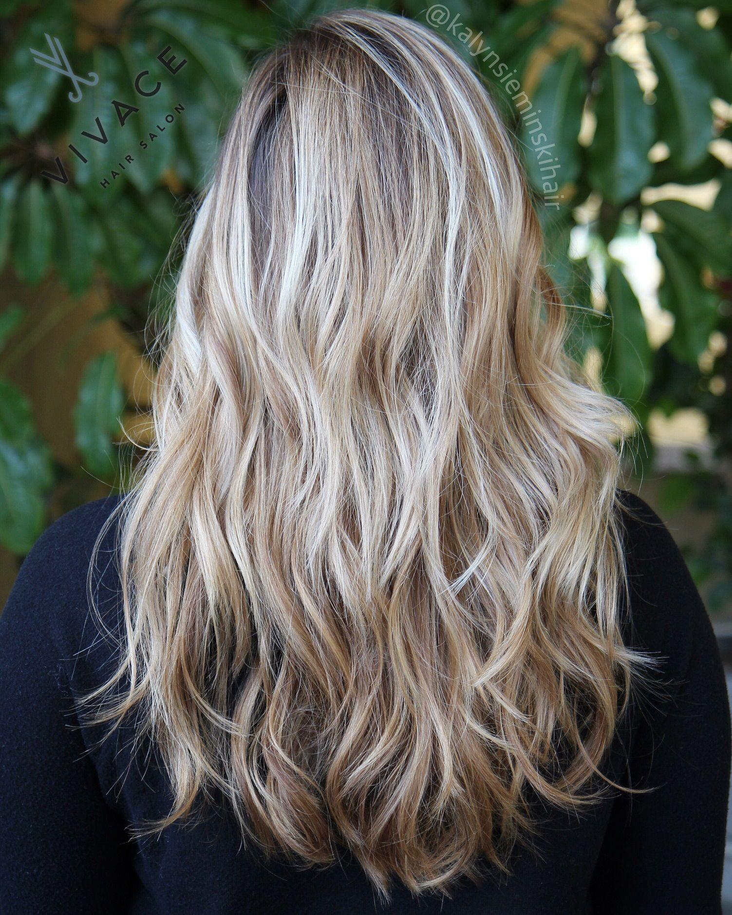 Sunkissed blonde! Balayage highlights by Kalyn Sieminski   Hair ...