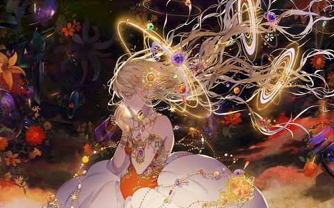「星を呑む」/「月岡月穂」のイラスト [pixiv]