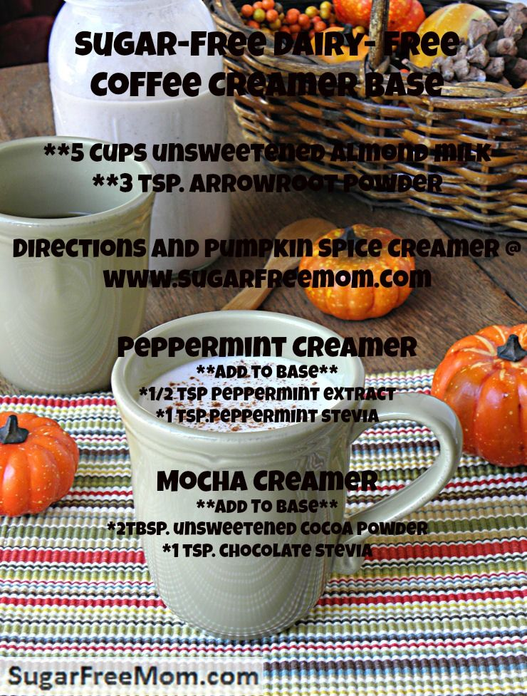 Pumpkin Spice Coffee Creamer (Dairy & Sugar Free) Recipe