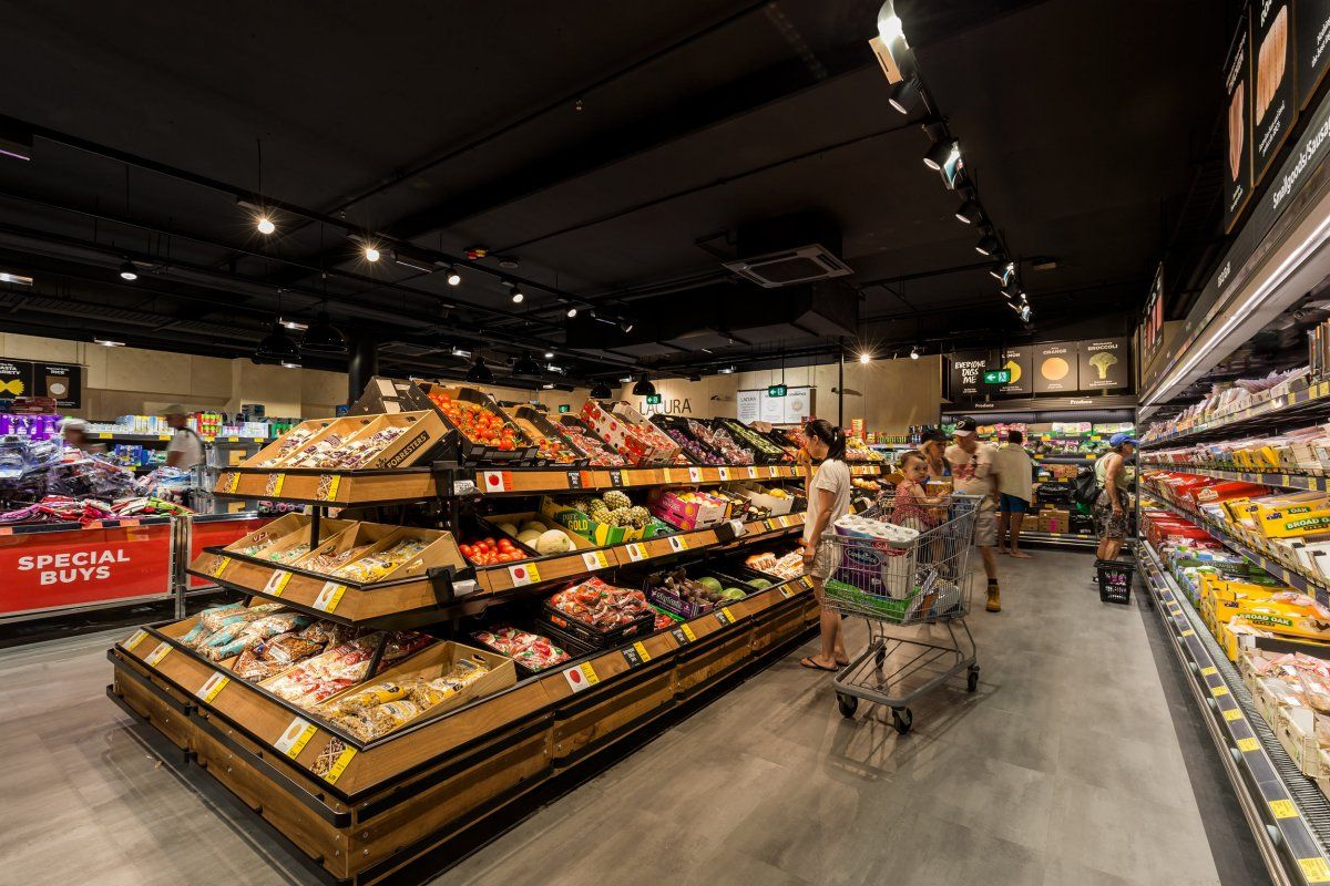 ALDI Manly Supermarket design, Aldi store, Shop front design