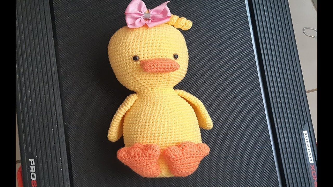 Pato a crochet - ganchillo - peluche a crochet - tejido facil parte ...