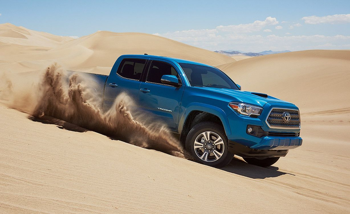 2016 toyota tacoma built for the endless weekend side views
