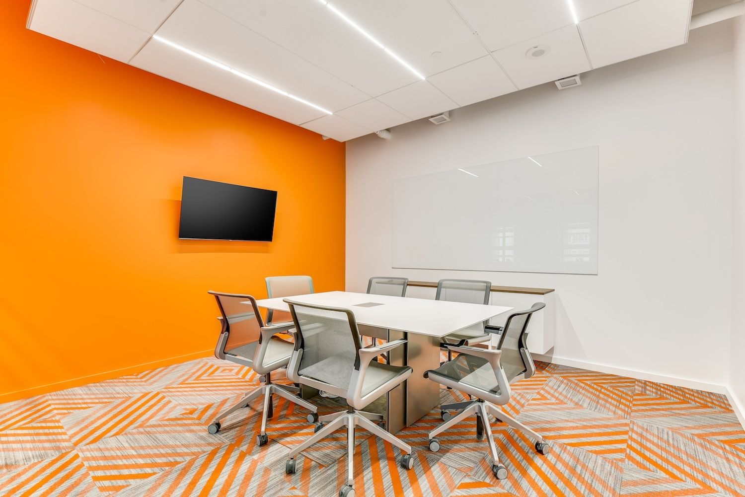 On Demand Conference Rooms Available With Projectors Tvs Phones And More Coworking Space Coworking Spacious Office