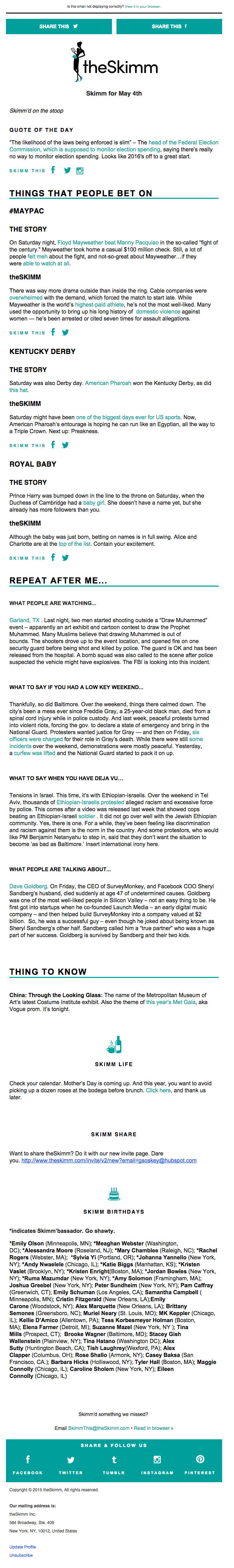 Get inspired by these fantastic email newsletter examples from ...