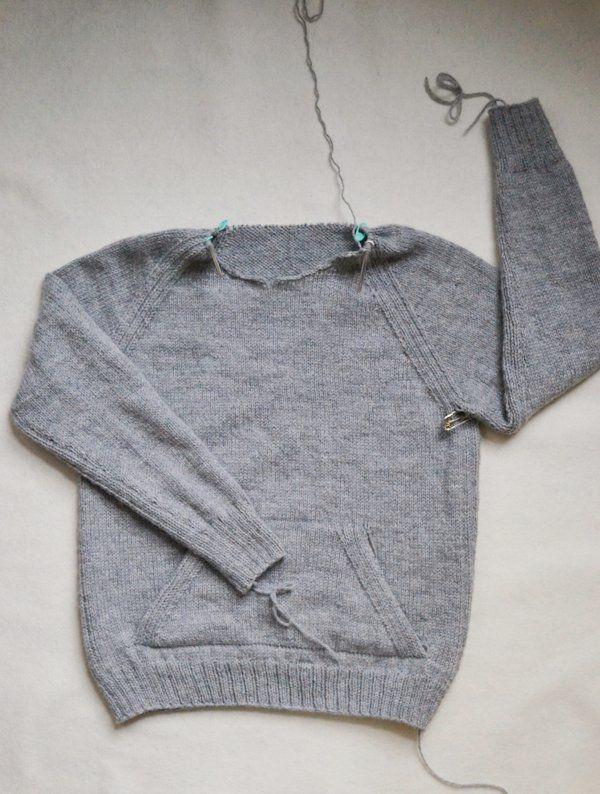Sweatshirt Sweater   knit   Sweaters, Sweatshirts, Sweater knitting