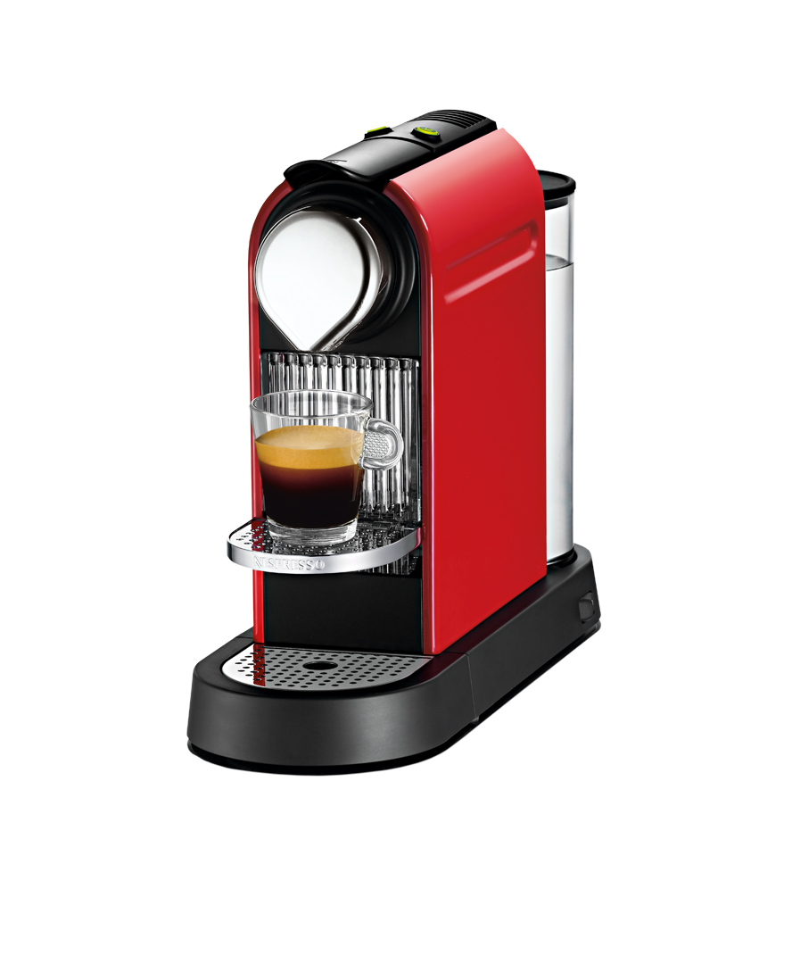 CitiZ Cherry Red Nespresso, Best coffee maker, Coffee