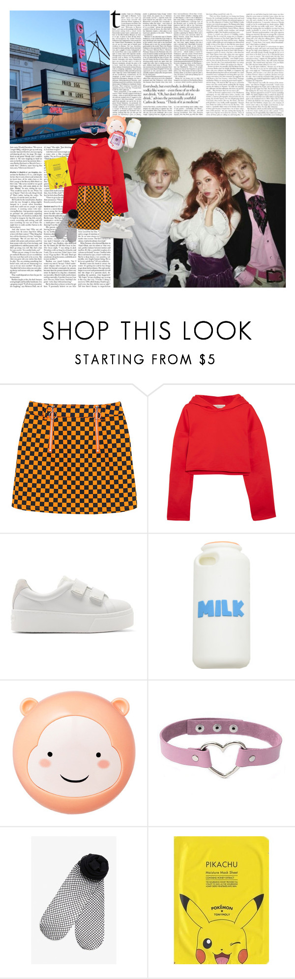 """""""outfit #486"""" by baekksi ❤ liked on Polyvore featuring Golden Goose, Kenzo, The Face Shop, Monki and TONYMOLY"""