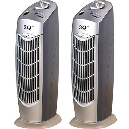 3q Ap08 Ionic Air Purifier With Uv Pack Of 2 Ionic Air Purifier
