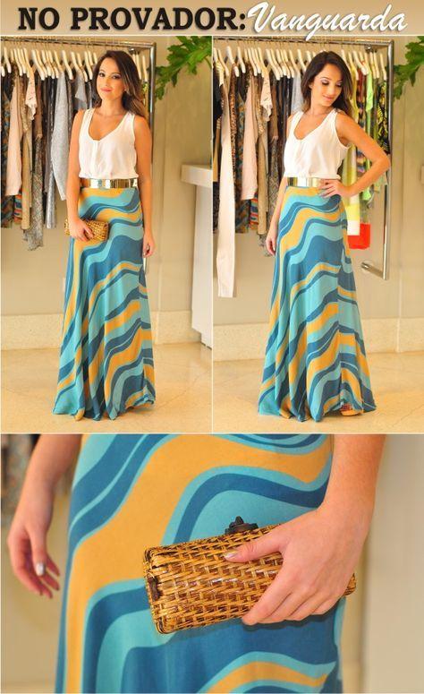 Onde será que compro essa saia linda