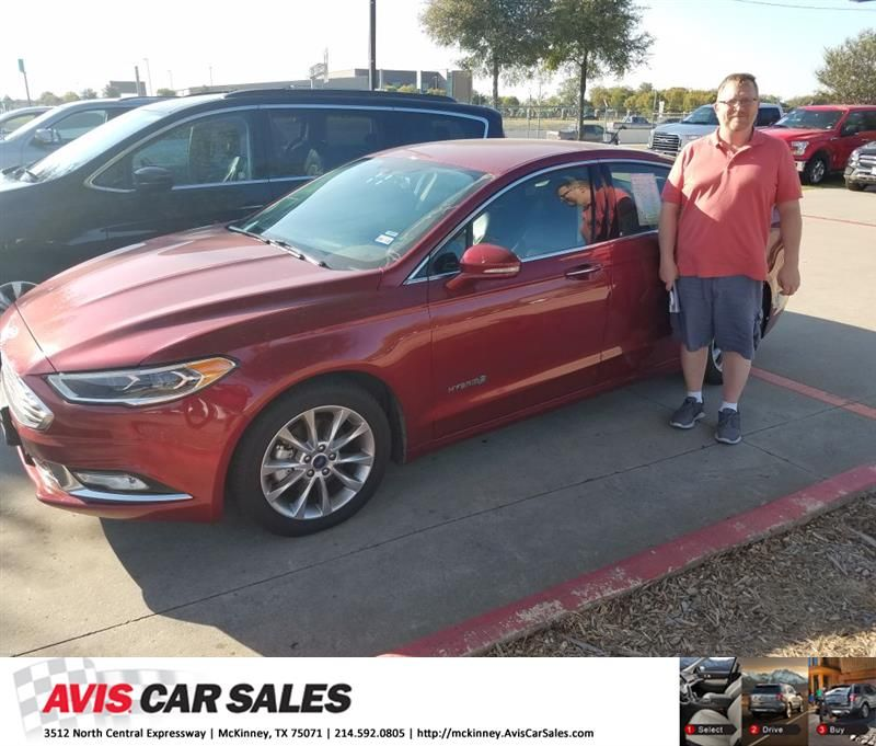 Congratulations Toby On Your Ford Fusion From Joe George At Avis