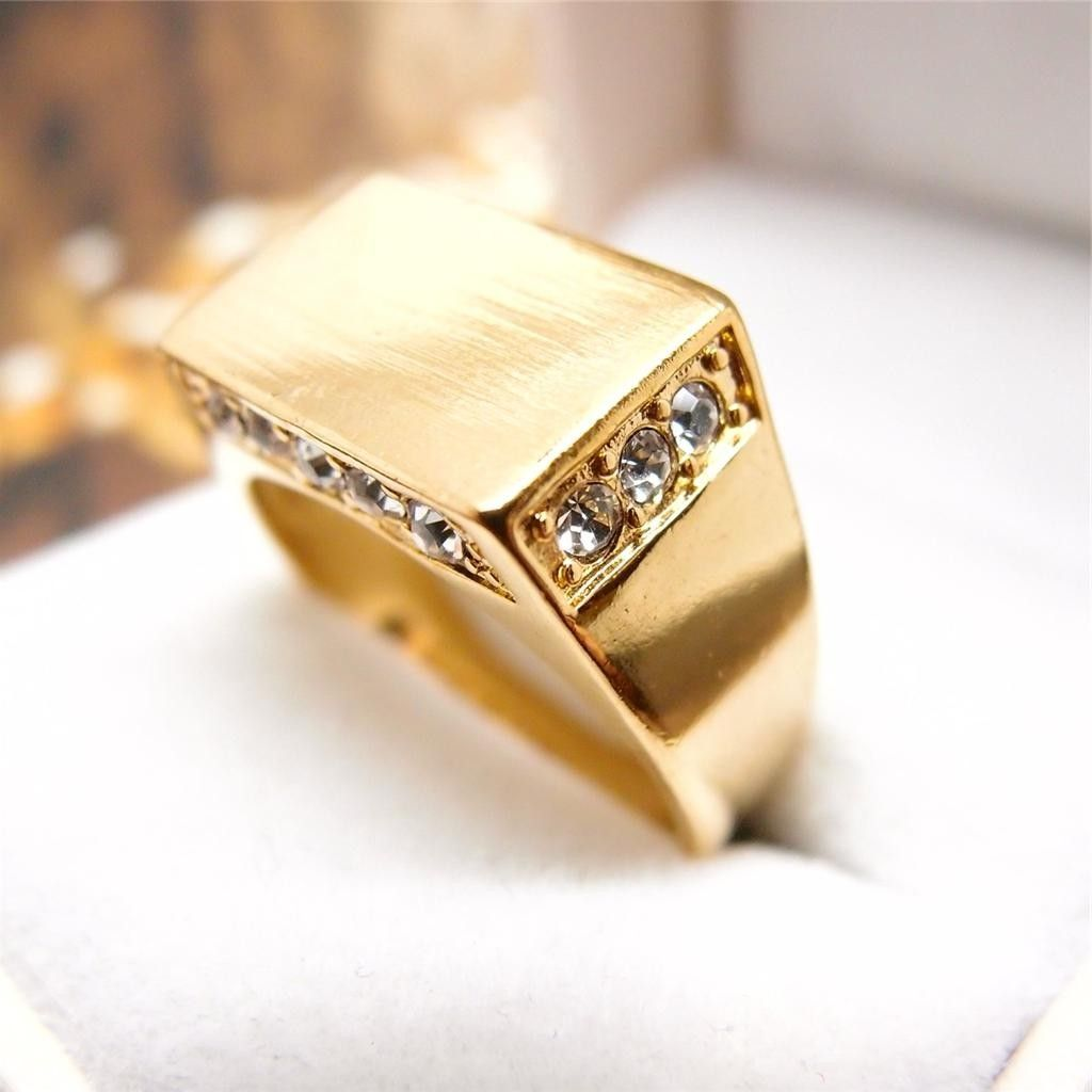 Gold Ring Design For Male In Pakistan Gold Ring Style Pinterest