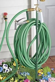HarrietCarter.| Metal garden hose, Faucet extender, Lawn and