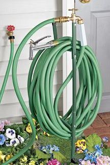 garden hose faucet extender