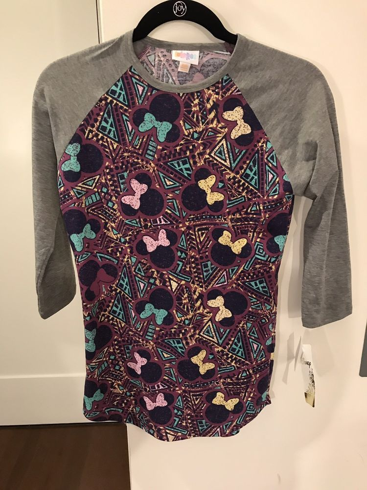f00937cb7543d8 New Lularoe Collection For Disney Randy XXS LLR NWT Unicorn Solid Top Shirt  #fashion #clothing #shoes #accessories #womensclothing #tops (ebay link)