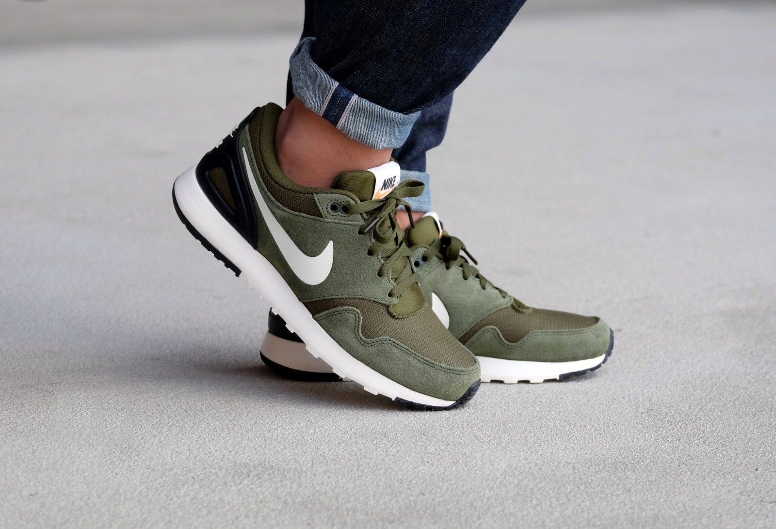 best website 7e49f bb3b8 Nike Air Vibenna Legion Green/Sail-Black - 866069-300 | the shoe ...