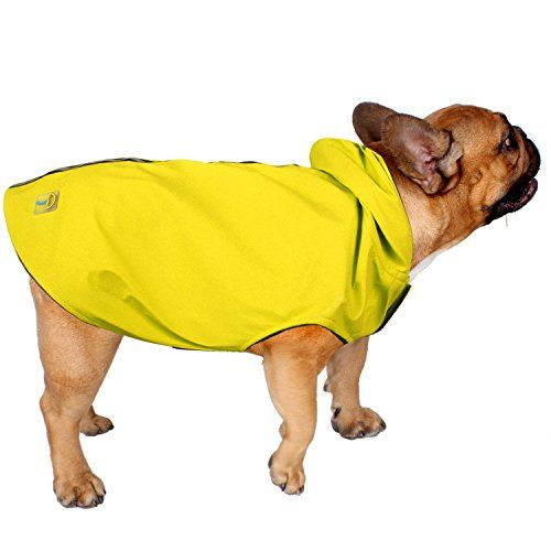 Dog Raincoats Jelly Wellies Premium Quality Waterproof Reflective Deluxe Raincoat With Polar Fleece Lining For Dogs Small Yellow Dog Raincoat Cat Clothes