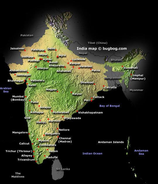 1000 images about Maps of India diffrent from others on – Tourist Map Of India