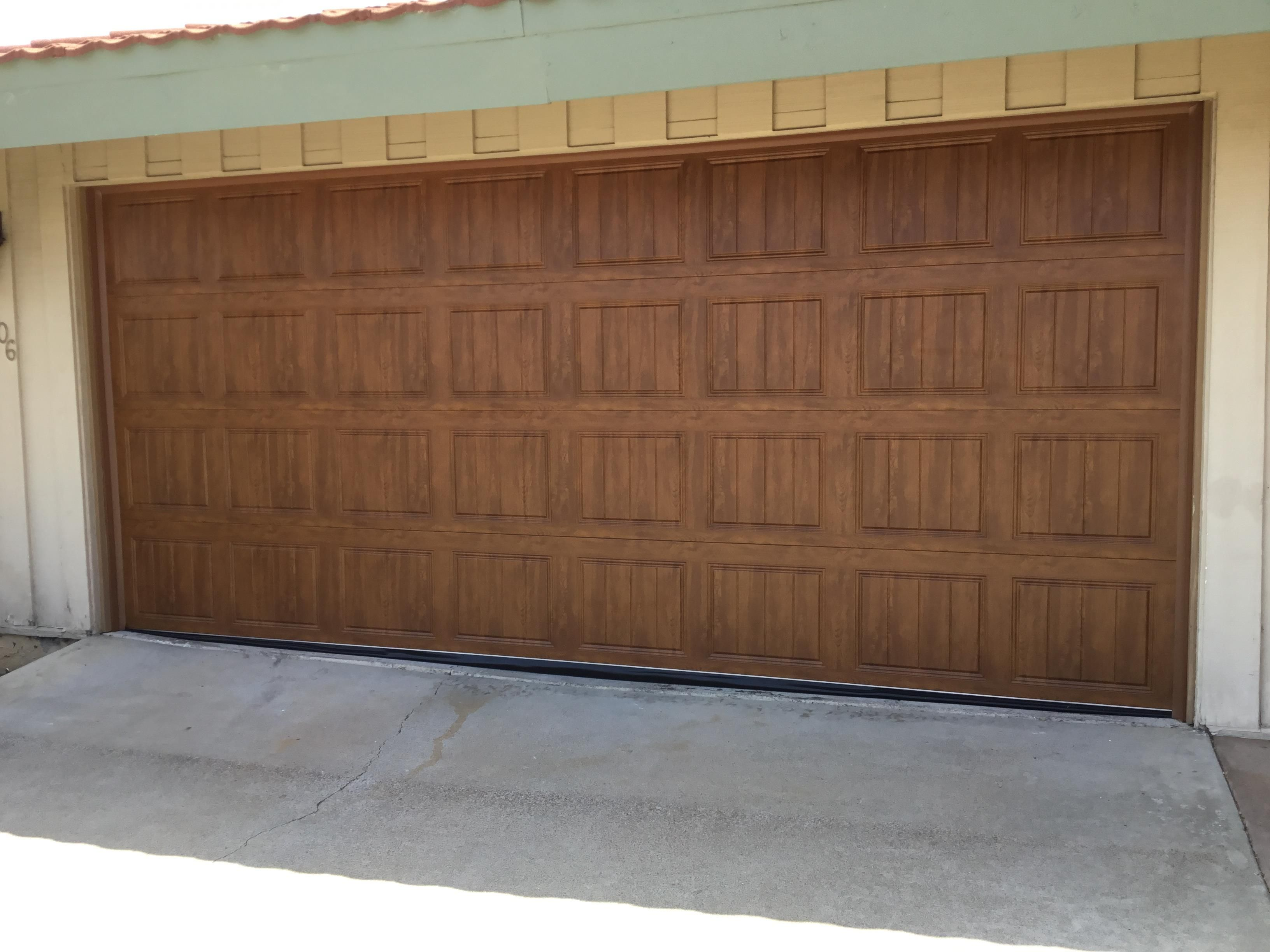 Beautiful Wood Door Install In San Diego California Door Installation Garage Doors Garage Door Repair