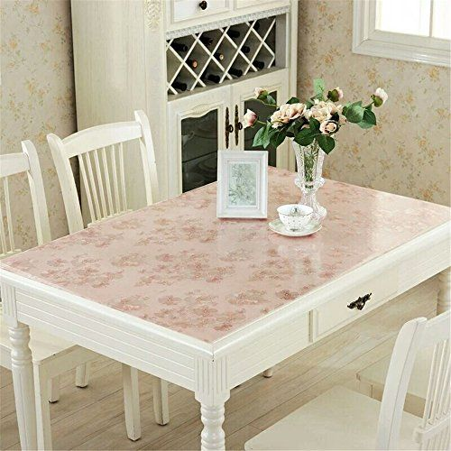 Lovepads Multi Size 1mm Custom Pvc Table Cover Protector Desk Mats