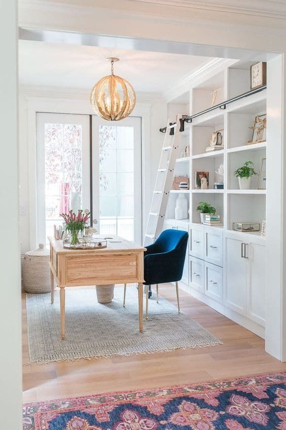 Office Guest Room Ideas That Give You More Bang For Your Us Buck: Fun And Feminine Home Offices: Get The Look