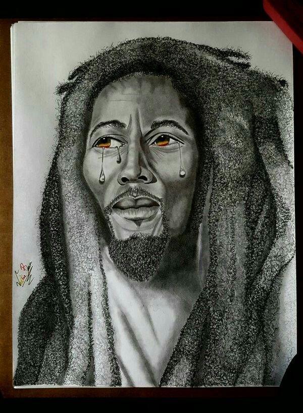 Bob Marley by VMarley