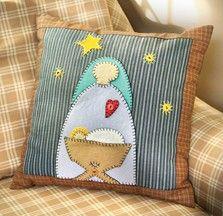 Nativity Pillow
