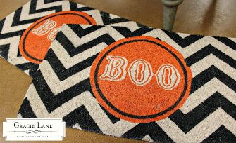 BOO! Great your guest in style!