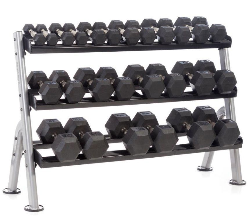 Dumbbell racks and storage solutions for garage gyms garage gym