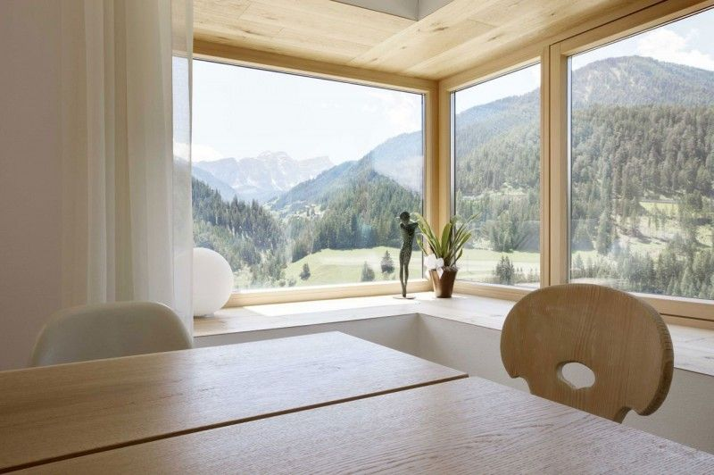 Environment Friendly Casa Pre De For A Simple And Modern Life: Glass Bay  Window