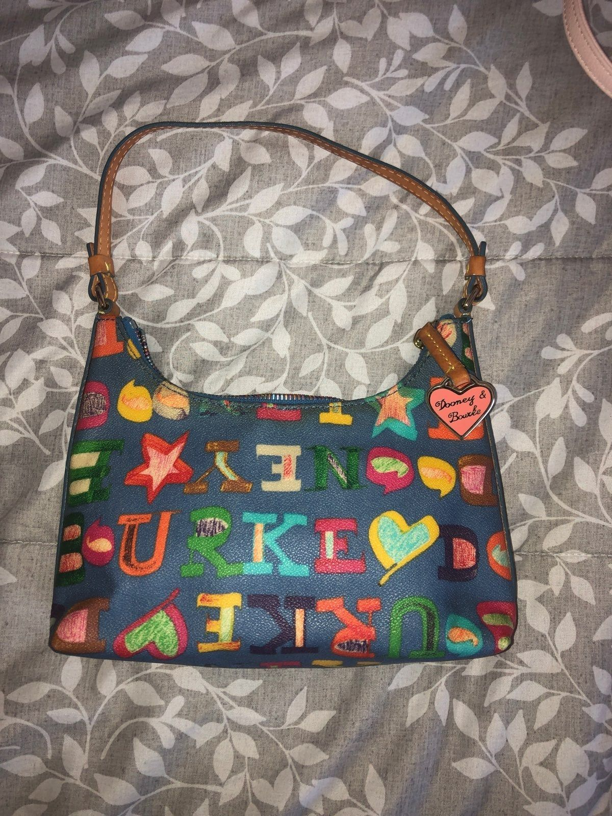 Bourke Handbag With Colorful Pattern