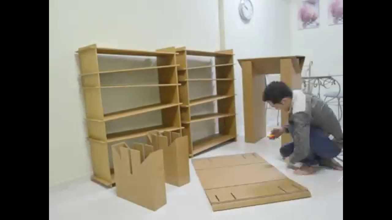 Make Cardboard Furniture DIYCardboardBedpin Make Cardboard