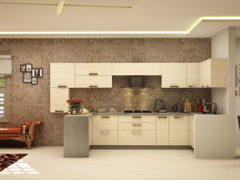 u shaped modular kitchen Google Search