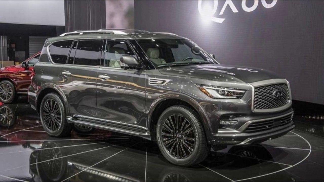The New Monograph Idea Will Underpin The New 2020 Infiniti Qx80 The Huge Suv Is Getting A New Generation And Fresh Archite Infinity Suv New Suv Infiniti Qx 80