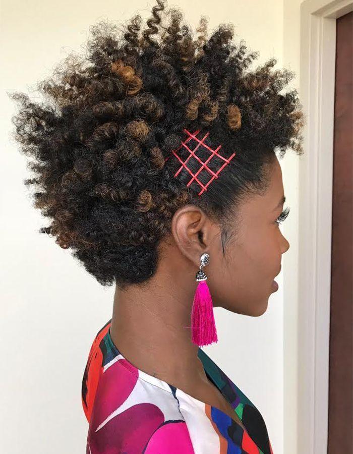 Short Natural Textured Hair Short Natural Haircuts Natural Hair Styles Curly Hair Styles Naturally