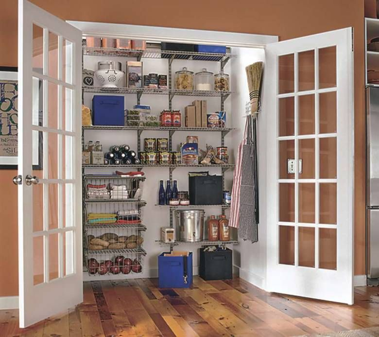 You may be able to turn a little-used closet near the kitchen into a