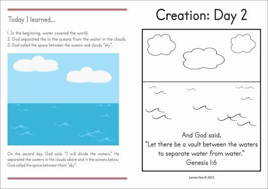 Sunday School Creation: Sky | Sunday school, Bible lessons ...