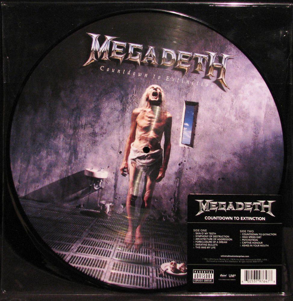 Megadeth Countdown To Extinction 180g Lp Vinyl Record