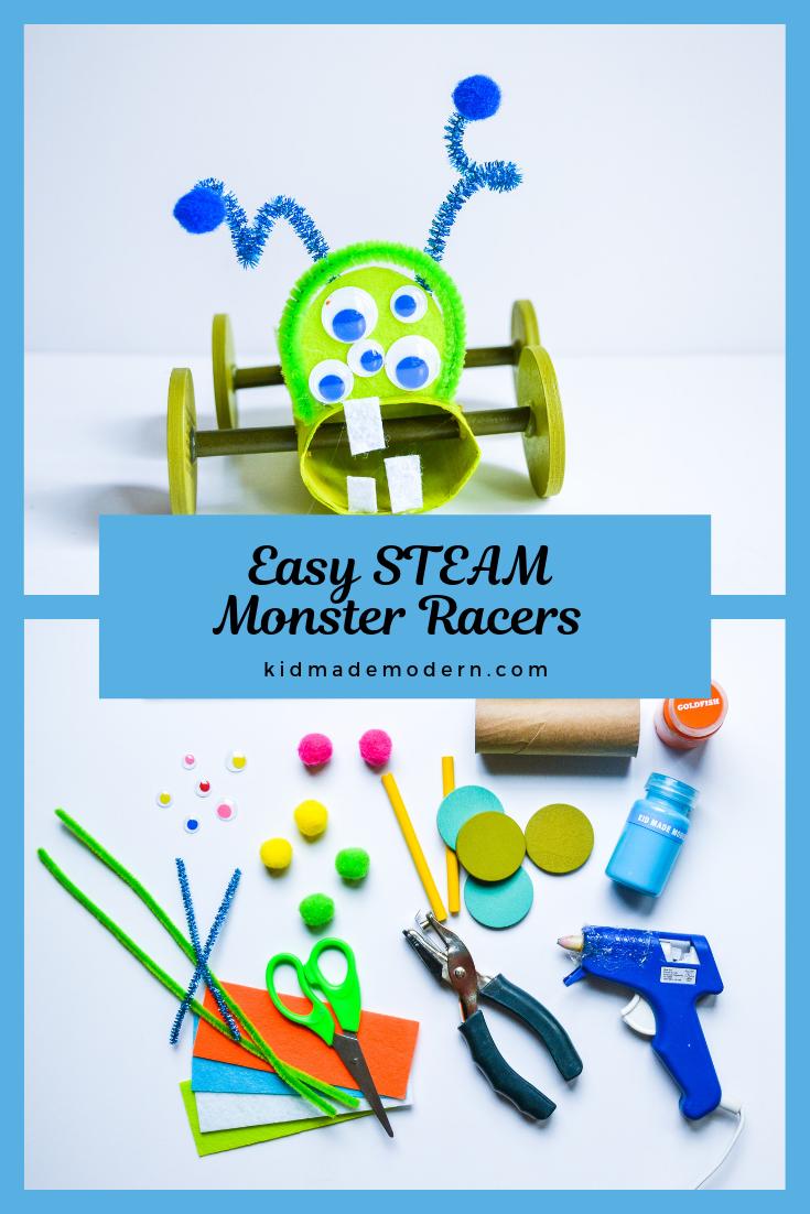 Easy Steam Craft For Kids Steam Stem Diy Gomakestuff Kidsdiy Kidscraft Artsandcrafts Creative Activities For Kids Arts And Crafts Kits Summertime Crafts