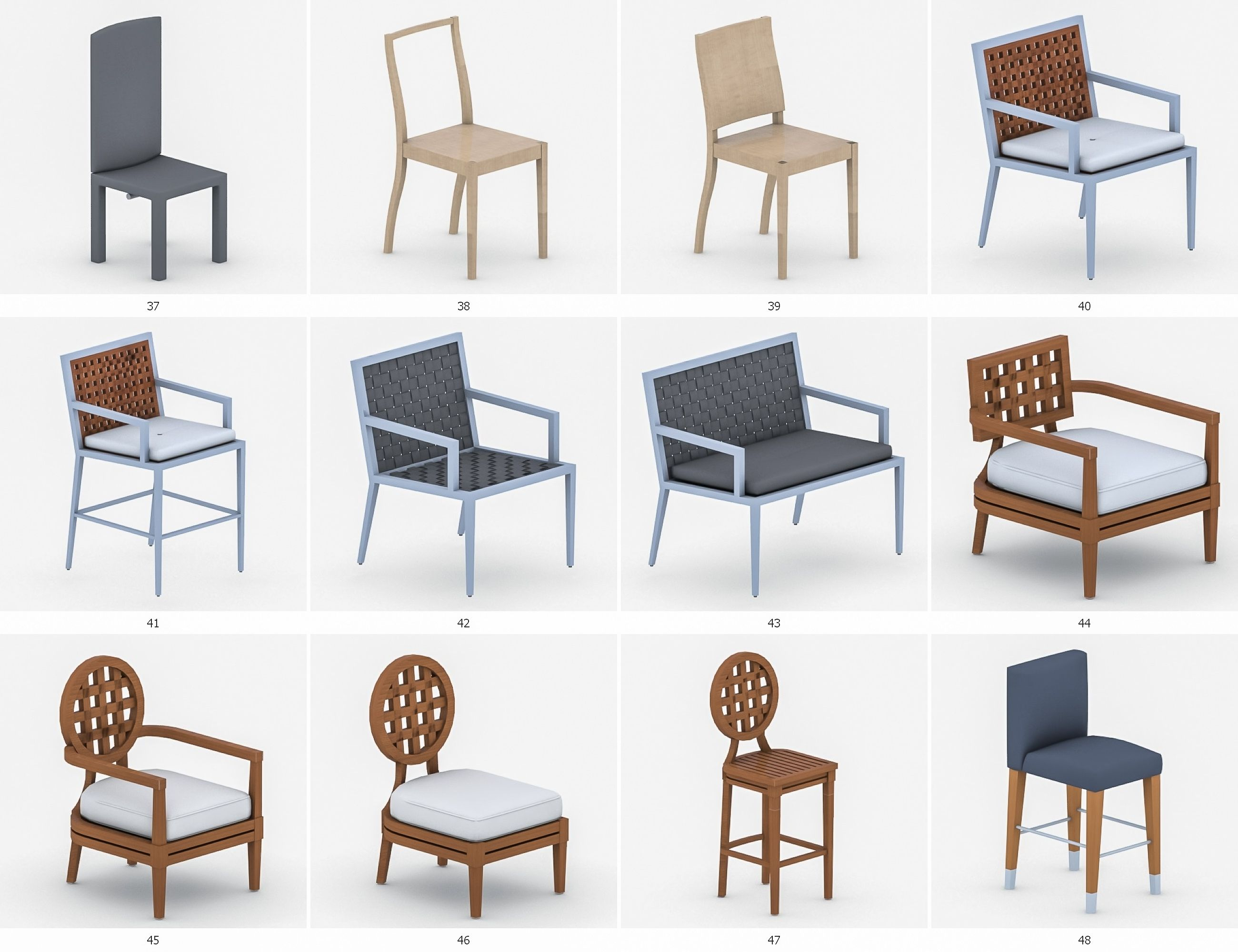 Chairs Collection Vol 3 Chairs, Collection, Vol Chair
