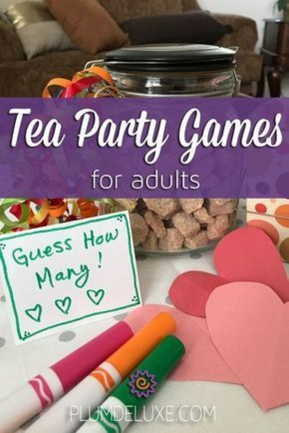 Why not add an element of good oldfashioned fun to your event with these six tea party games for adults