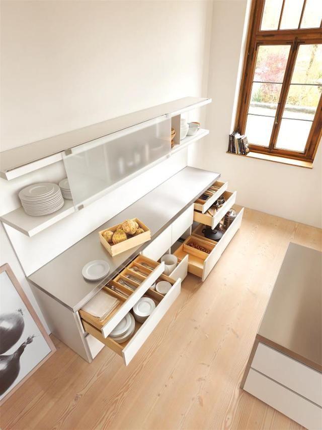 Bulthaup B1 #küche #küchenaufbewahrung ©Bulthaup GmbH U0026 Co KG