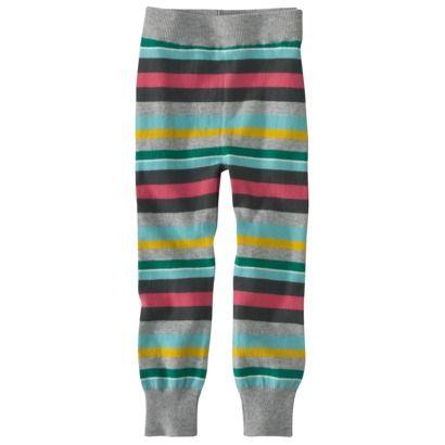 Cherokee® Infant Toddler Girls' Stripe Sweater Legging