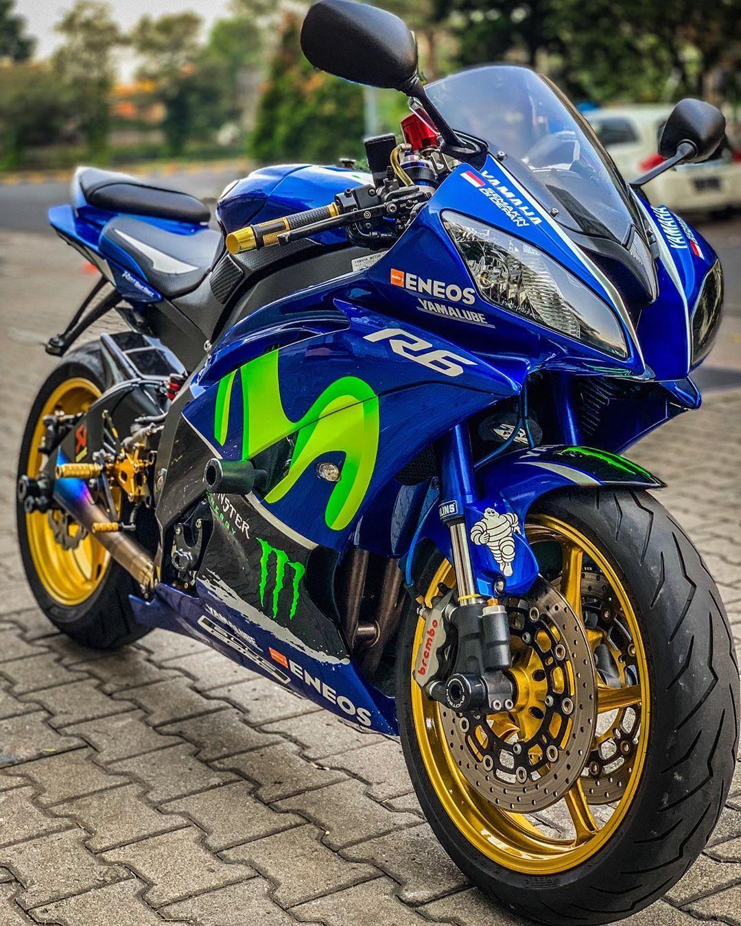 Yamaha R6 Mobil Sport Mobil Seni Jalanan