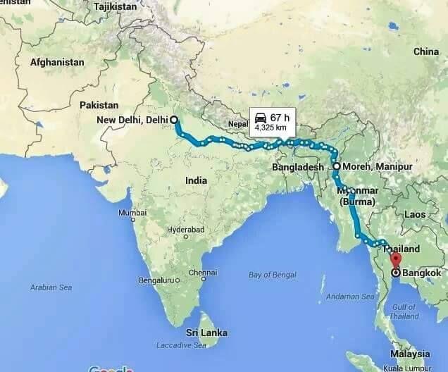 on delhi maps directions