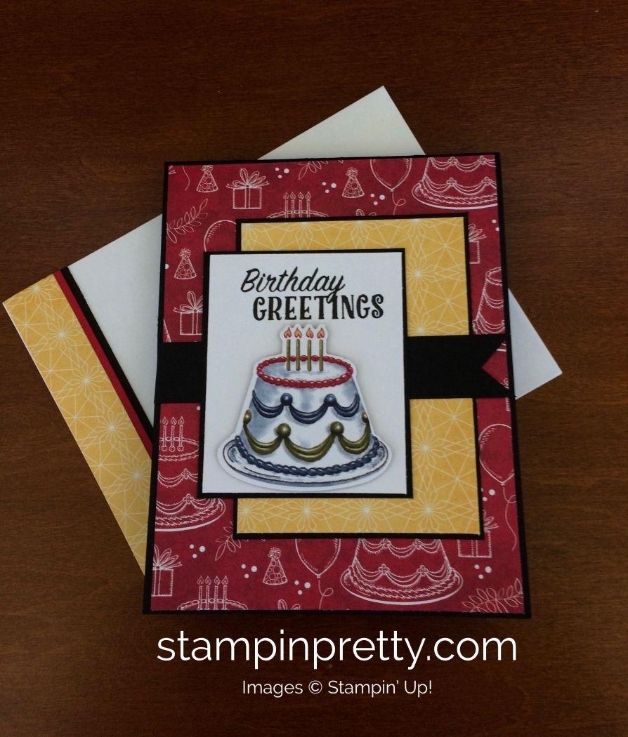 Stampin' Up! Birthday Delivery Birthday Card Birthday