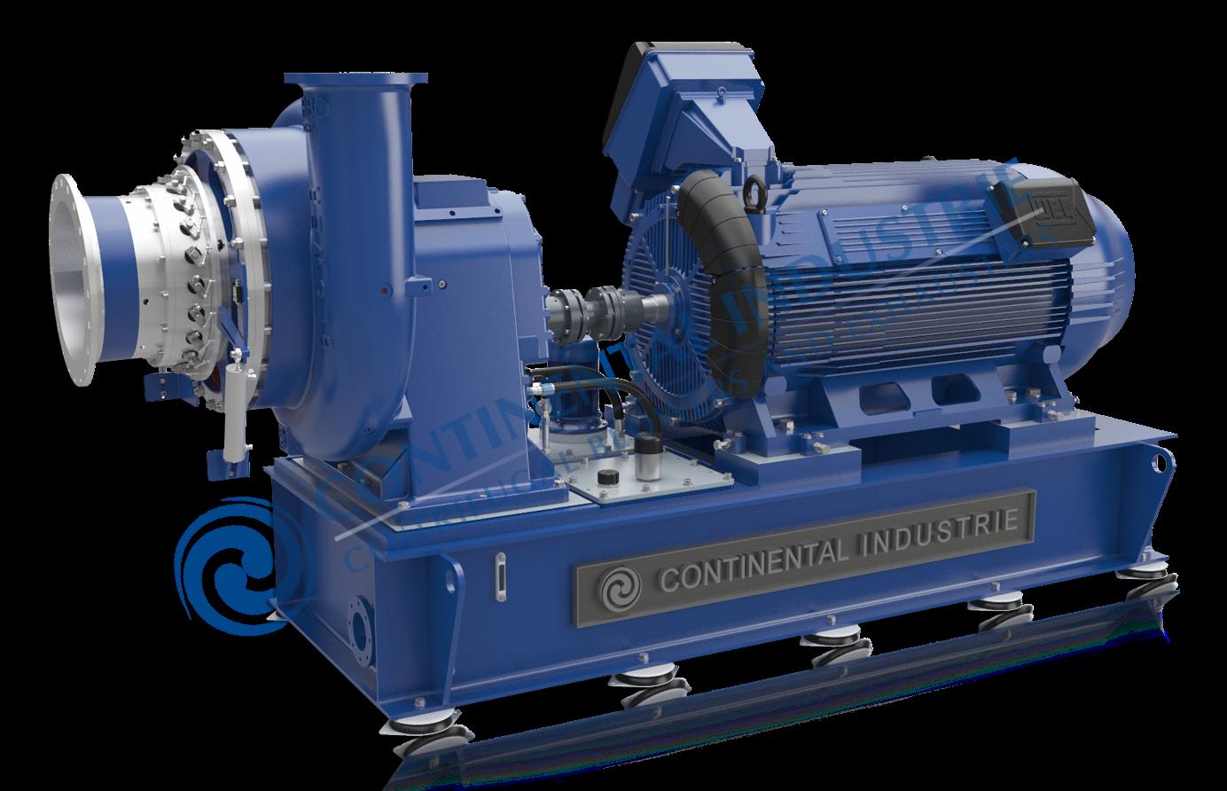 Single stage Turbo Compressor Model For more information