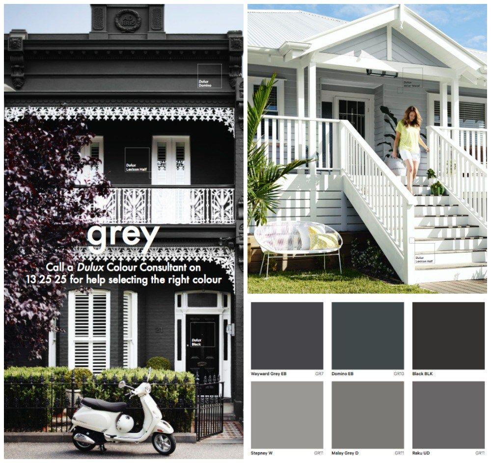 16 Ideas of Victorian Interior Design  House Paint ColoursGrey Paint Colours Paint SchemesColour SchemesDulux PaintExterior ColorsExterior  Exterior paint   Haymes Solashield  First impressions count so  . Dulux Exterior Paint Selection. Home Design Ideas