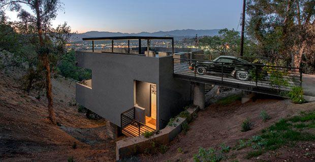 Car Park House Casa Parcheggio O Terrazzo Casa Design