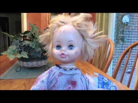 Haunting 2016 /Part 6 Make a Zombie Girl - YouTube dolls heads